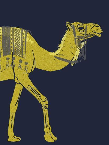 Camel--Giclee Print
