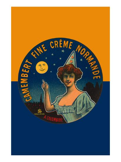 Camembert Fine Creme Normande- L. Poly-Art Print