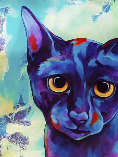 Cameo Cat-Corina St. Martin-Giclee Print