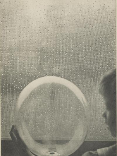Camera Work, juillet 1908 : Drops of rain-Clarence White-Giclee Print