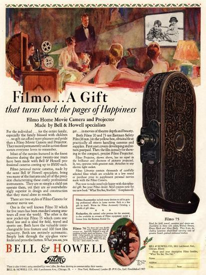 Cameras Cine Bell and Howell, USA, 1928--Giclee Print