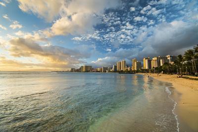 Waikiki Queens Sunset
