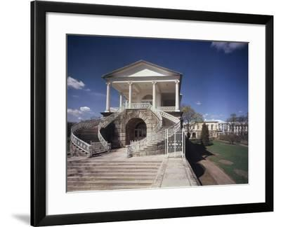 Cameron Gallery at the Catherine Palace in Tsarskoye Selo, 1783-1785-Charles Cameron-Framed Photographic Print