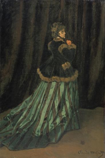 Camilla, 1866-Claude Monet-Giclee Print