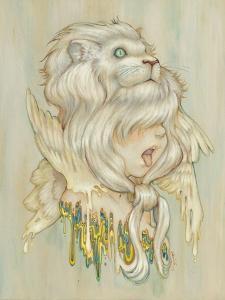 Daniel Lion Roar by Camilla D'Errico