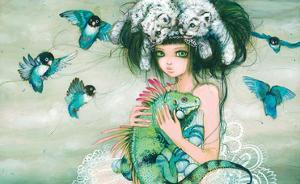 Iguana by Camilla D'Errico