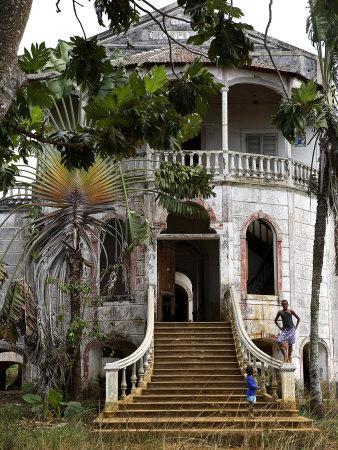 Derelict Hospital, Sao Tomé