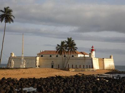 Fortaleza De Sao Sebastiao Built in the Early 16th Century in the City of Sao Tomé