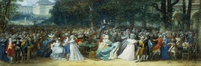 Camille Desmoulins (1760-1794) Au Palais Royale-Joseph Navlet-Giclee Print
