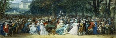 Camille Desmoulins (1760-1794) au Palais Royale-Joseph Navlet-Premium Giclee Print