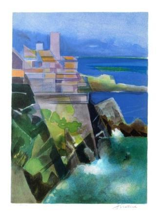 Cote d'Azur - Antibes by Camille Hilaire