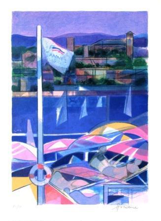 Cote d'Azur - Cannes by Camille Hilaire
