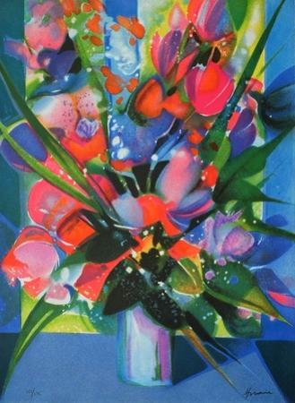 Fleurs V by Camille Hilaire