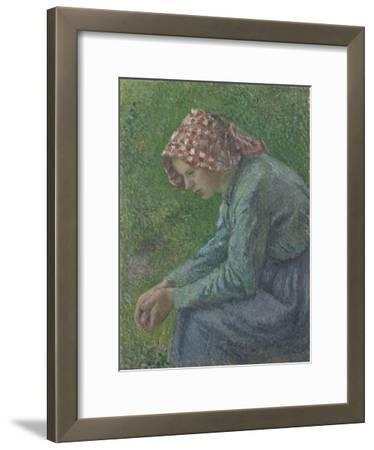 A Seated Peasant Woman, 1885