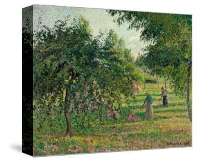 Apple Trees and Hay Makers at Eragny; Pommiers Et Faneuses, Eragny, 1895