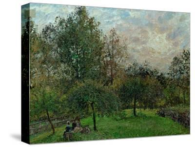 Apple Trees and Poplars in a Sunset, 1901