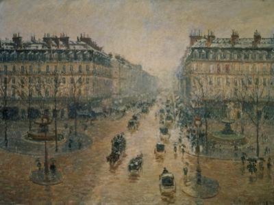 Avenue De L'Opera, Paris, 1898