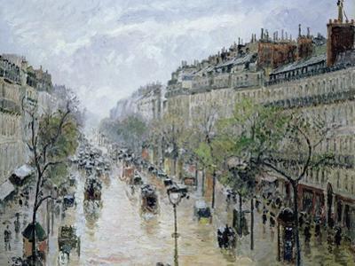 Boulevard Montmartre, 1897
