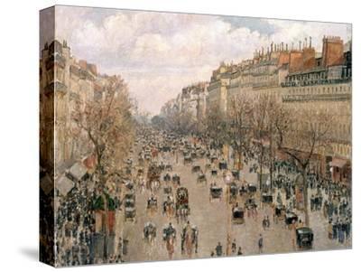 Boulevard Montmartre, Afternoon Sun, 1897