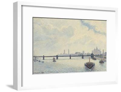 Charing Cross Bridge, London, 1890