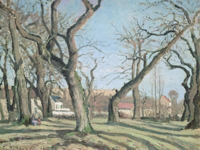 Chestnut Trees at Louveciennes, 1872