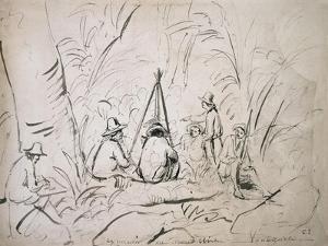 Excursion to Mont Avila, Venezuela by Camille Pissarro