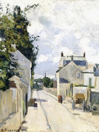 Hermitage Street, Pontoise, 1874