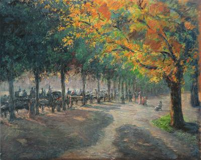 Hyde Park, London by Camille Pissarro