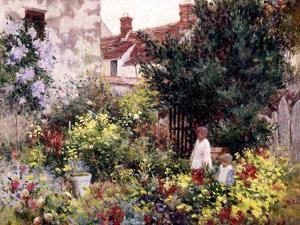 In the Garden by Camille Pissarro