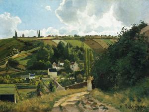 Jalais, Hill, Pontoise by Camille Pissarro