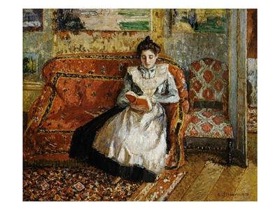 Jeanne Pissarro, Reading