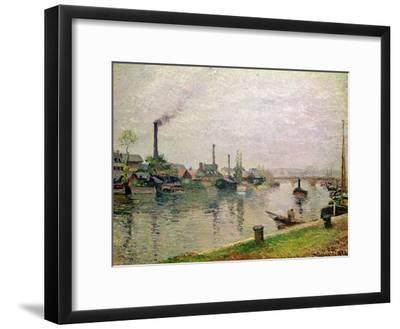 L'Ile La Croix a Rouen, 1883