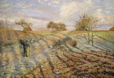 La Gelée Blanche (Hoarfrost), 1873