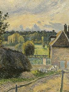 La Maison de la folie à Eragny by Camille Pissarro