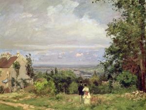 Louveciennes, 1870 by Camille Pissarro
