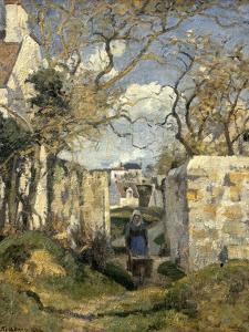 Paysage de Pontoise by Camille Pissarro