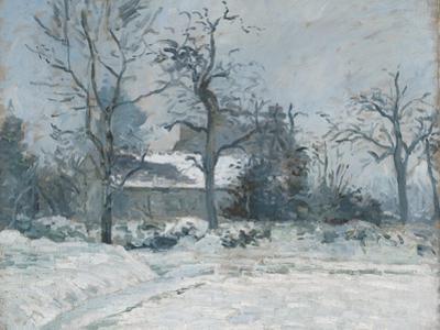 Piette's House at Montfoucault, Snow Effect, 1874