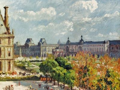 Pissarro: Carrousel, 1900 by Camille Pissarro