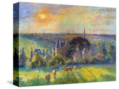 Pissarro: Eragny, 1895 by Camille Pissarro