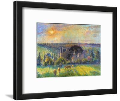 Pissarro: Eragny, 1895
