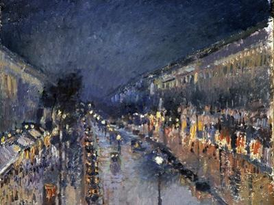 Pissarro: Paris at Night by Camille Pissarro