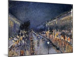 Pissarro: Paris at Night by Camille Pissarro
