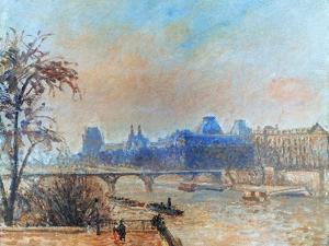 Pissarro: Seine, 1903 by Camille Pissarro