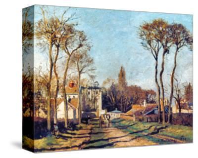 Pissarro: Voisins, 1872