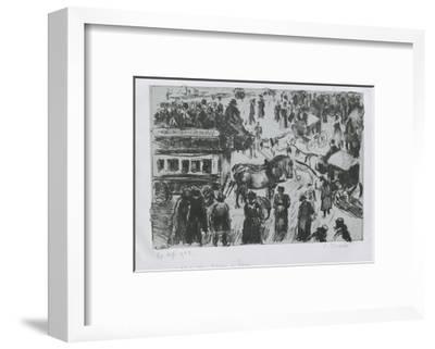 Place Du Havre, À Paris, C. 1897
