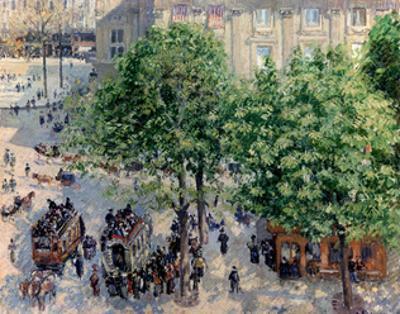 Place Du Théâtre Français in Paris. Spring, 1898 by Camille Pissarro