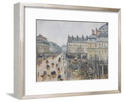 Place Du Théâtre Français, Paris: Rain, 1898