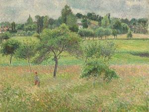 Pommiers À Éragny, 1894 by Camille Pissarro