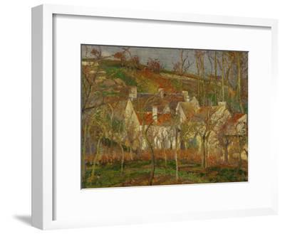 Red Roofs, a Village Corner, Winter, 1877