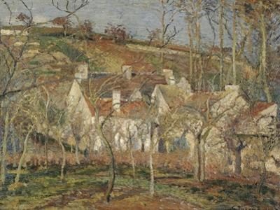 Red Roofs, Corner of a Village, Winter, 1877